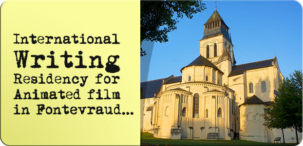 Writing in Fontevraud…